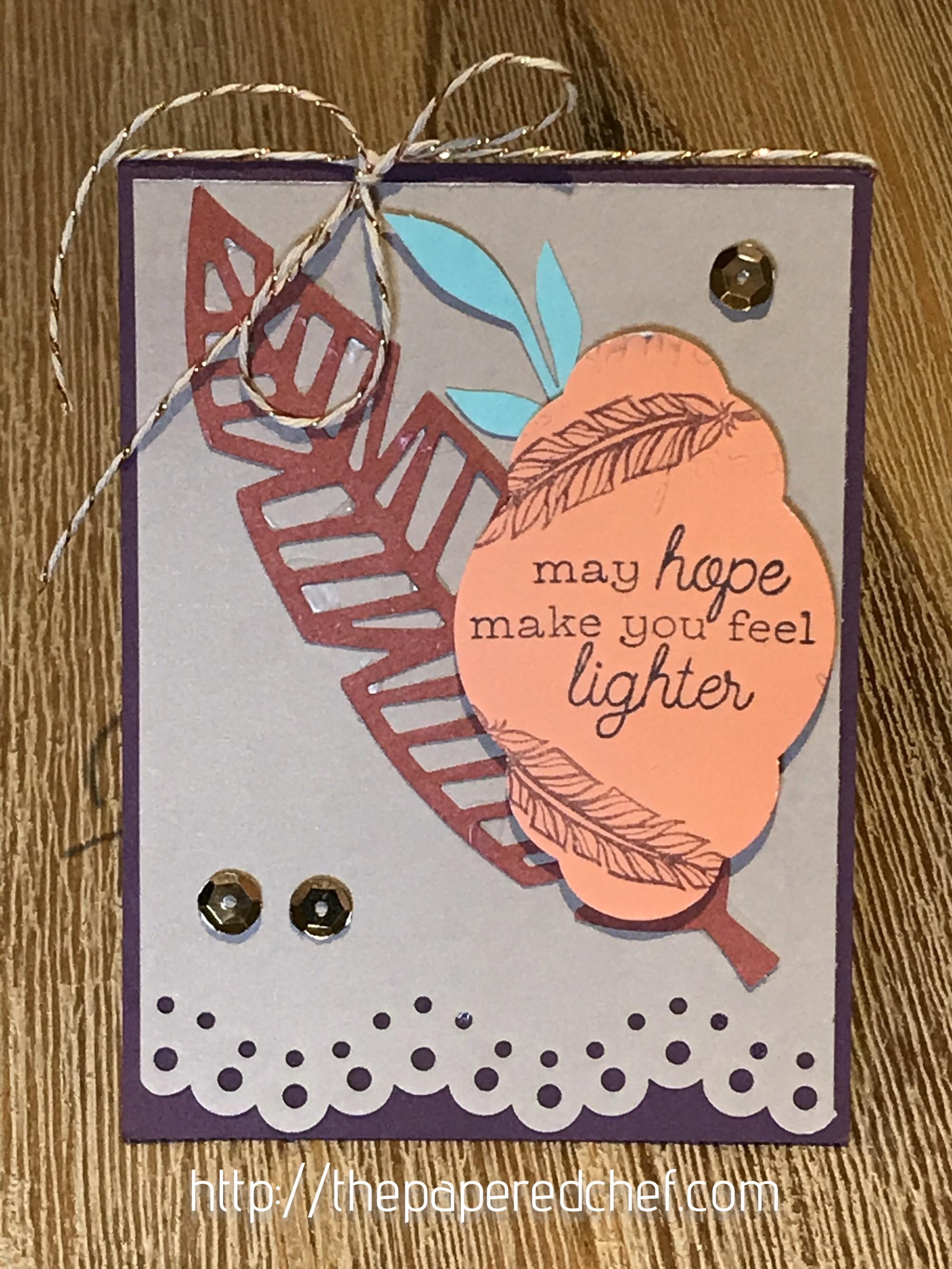 Friends of a Feather Card - Paper Pumpkin