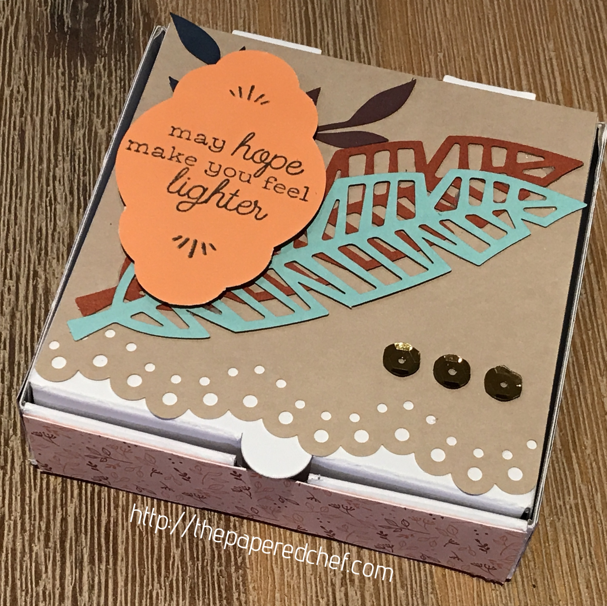 Friends of a Feather Mini Pizza Box - Paper Pumpkin