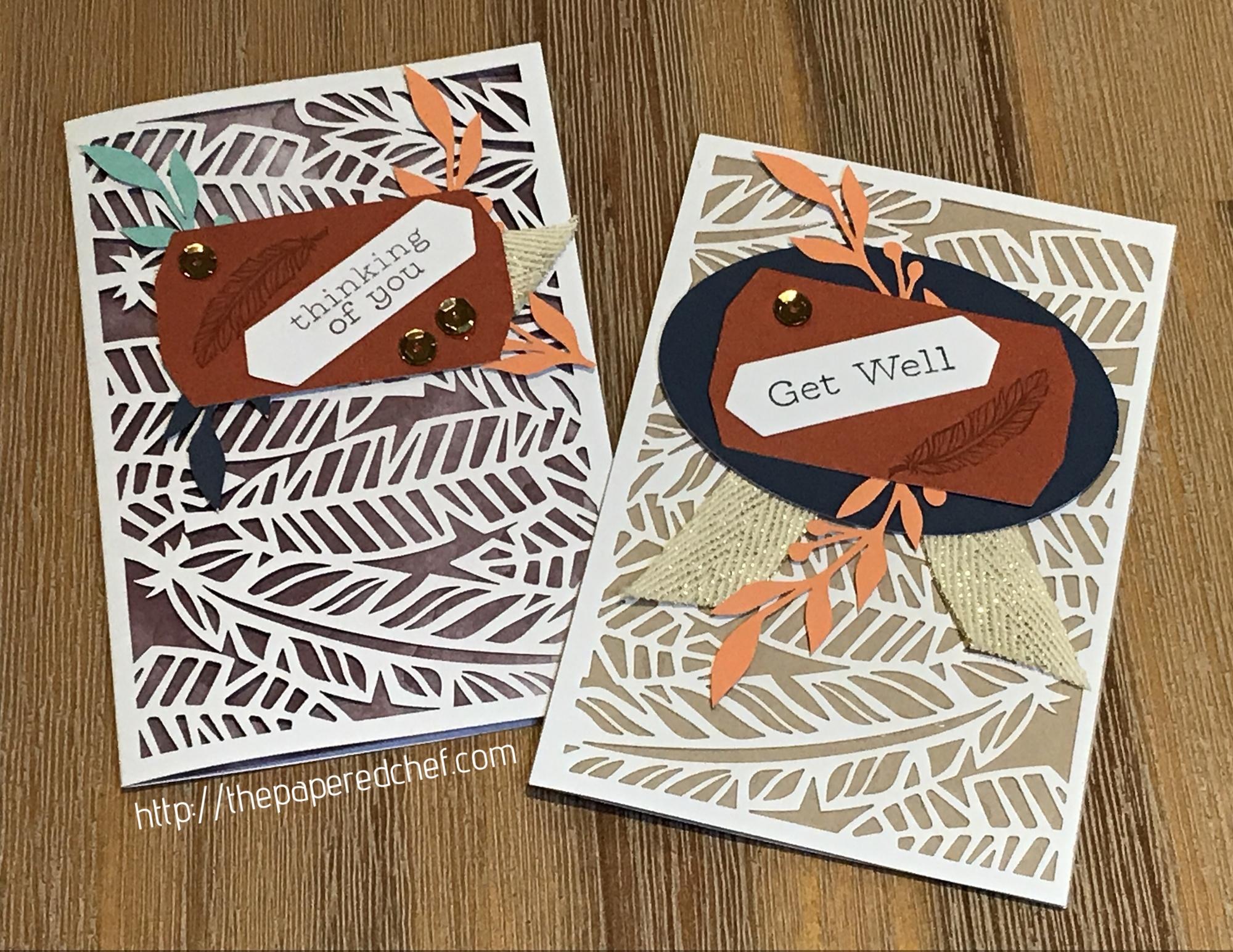 Friends of a Feather Cards - Paper Pumpkin