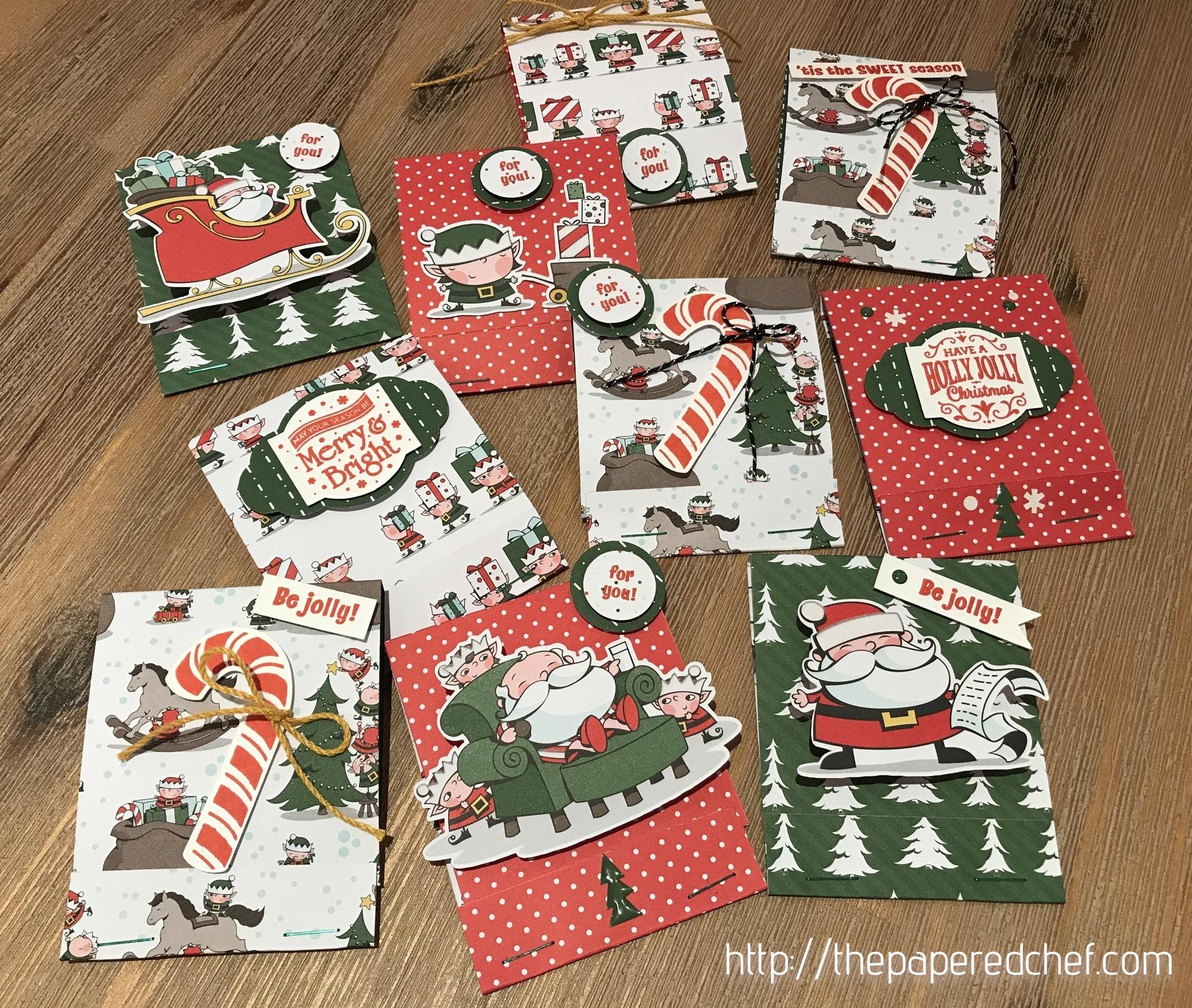 Santa's Workshop Matchbooks