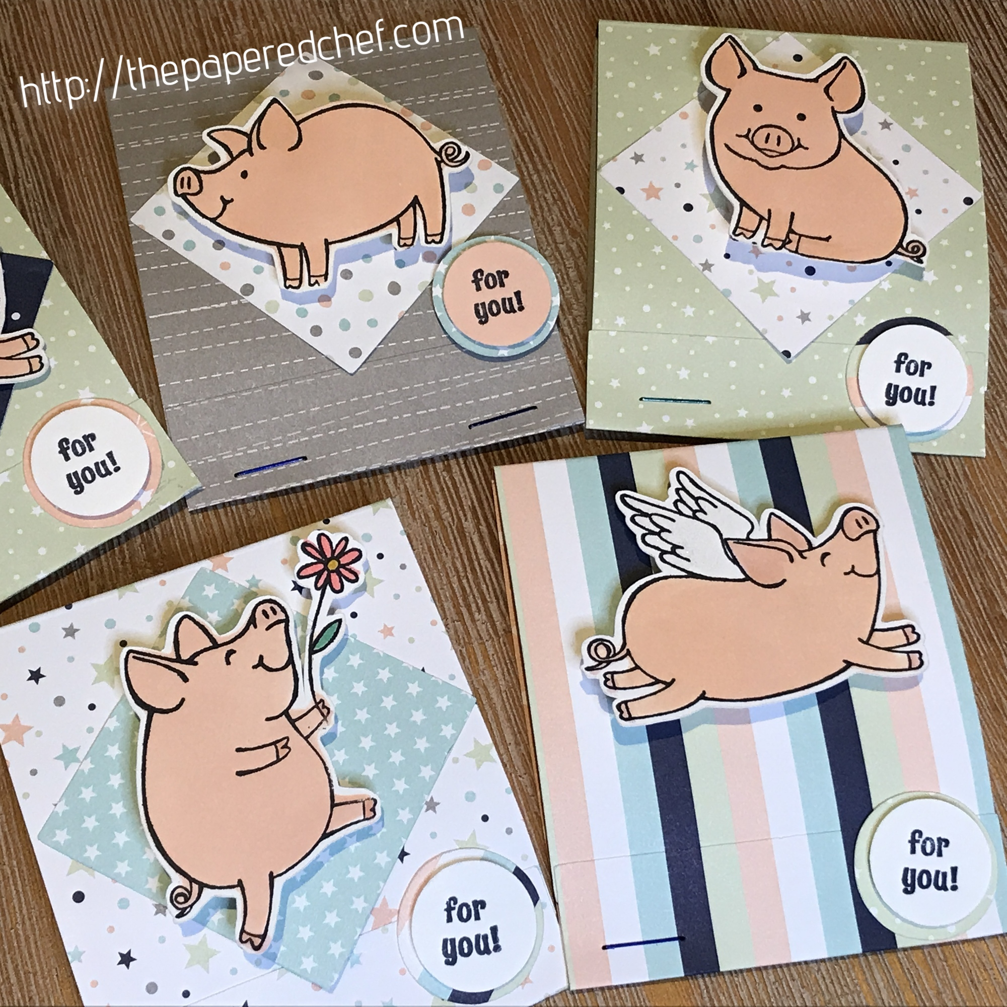 This Little Piggy Twinkle Twinkle Matchbooks