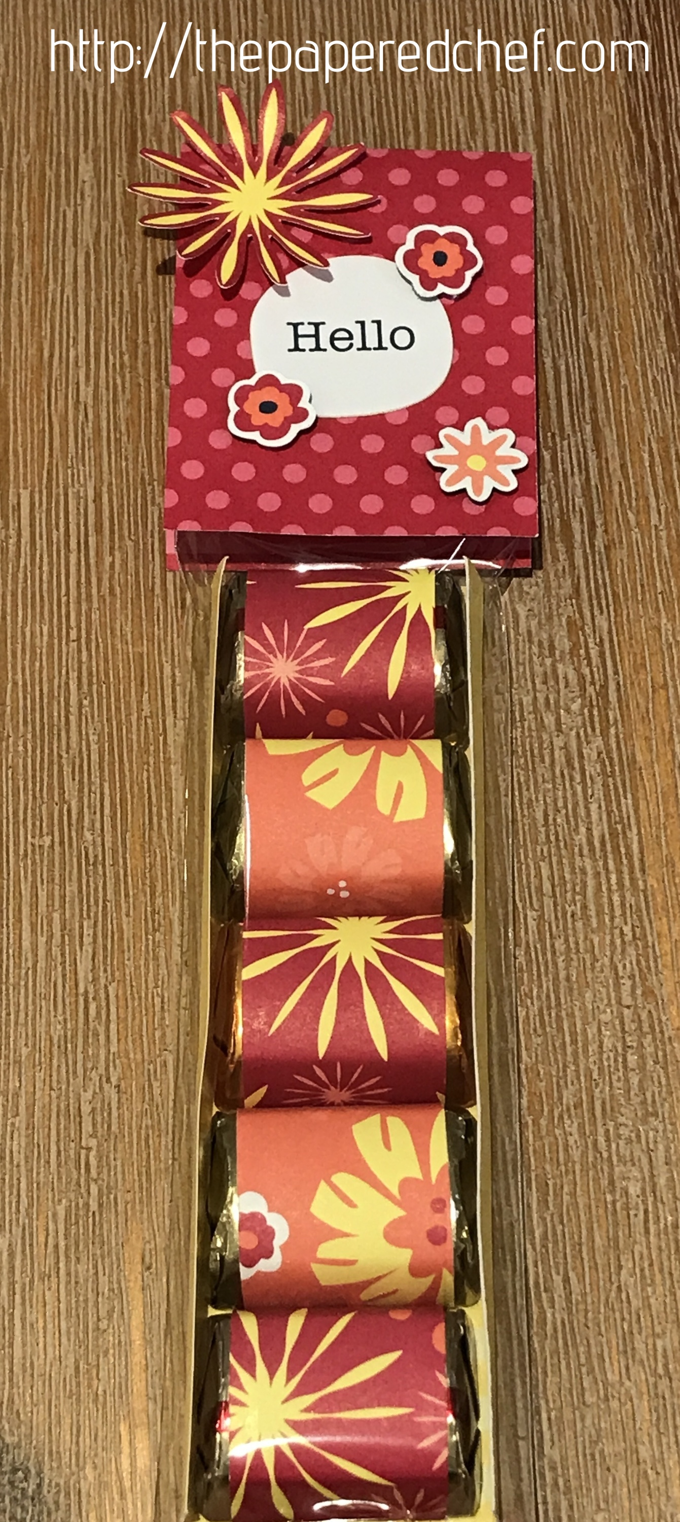 Happiness Blooms - Hershey Nugget Treat