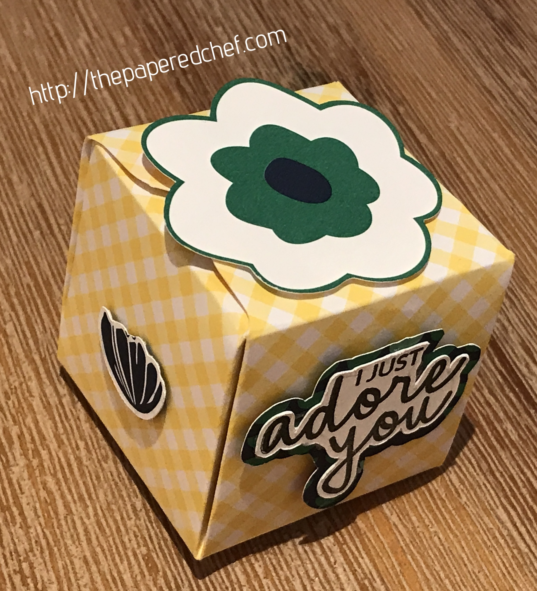 Happiness Blooms Box by Stampin' Up!