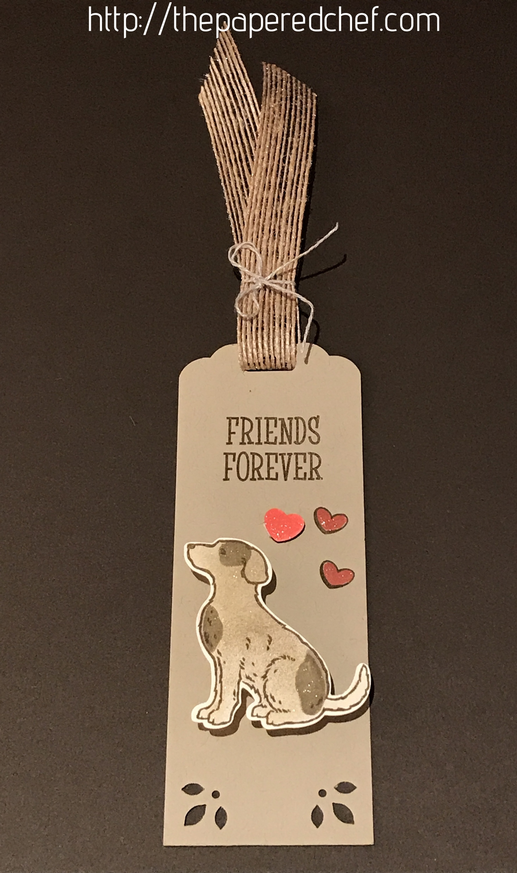 Happy Tails - Friends Forever Bookmark