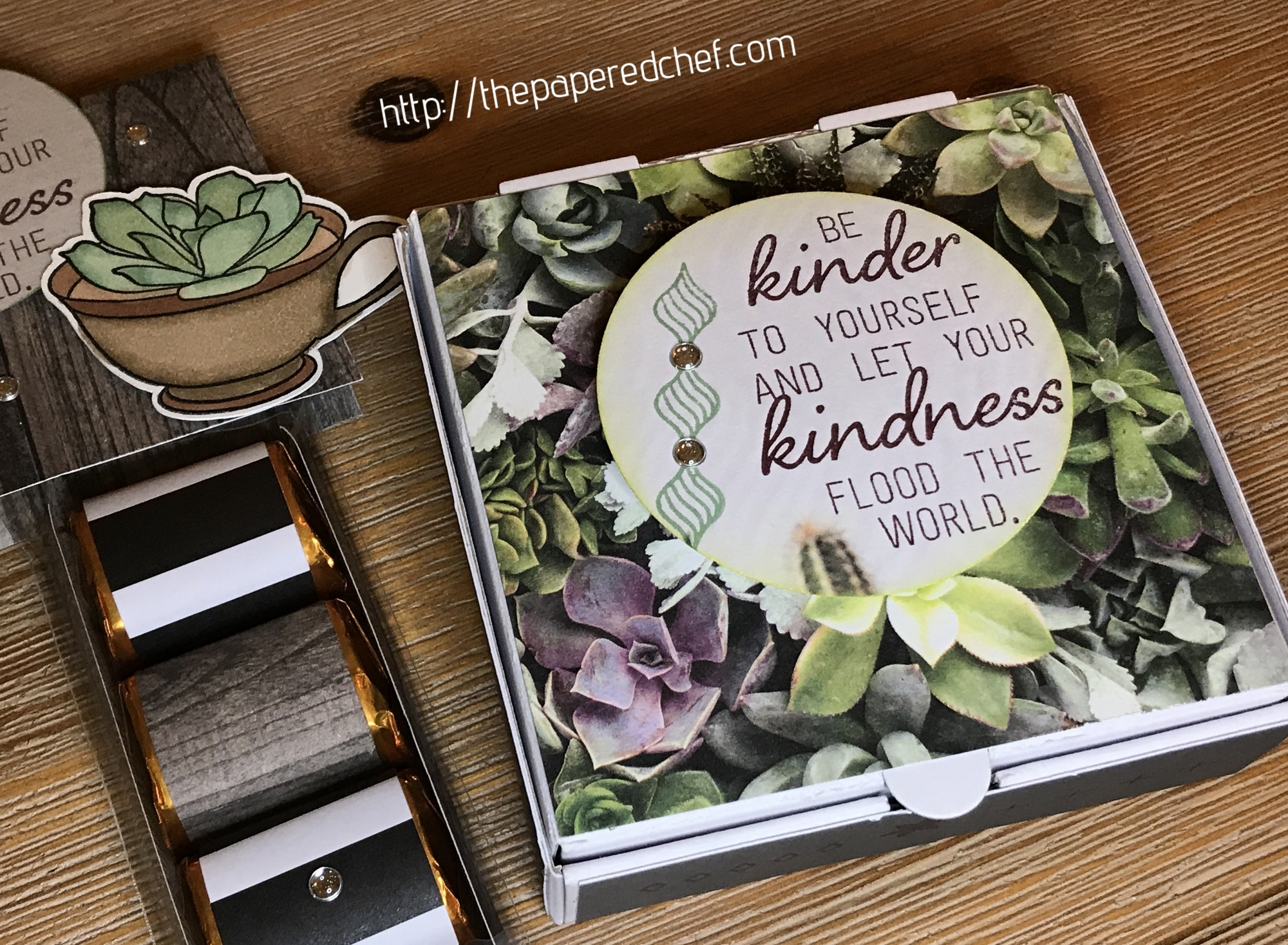Grown with Kindness Paper Pumpkin Kit