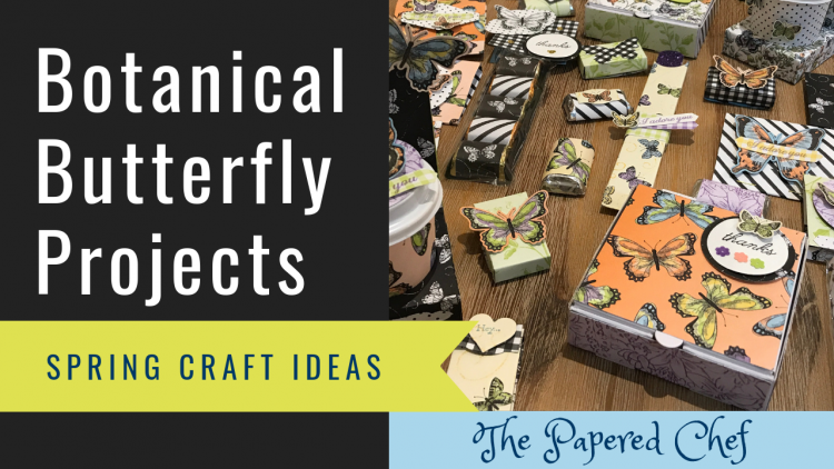 Botanical Butterfly Projects - Spring Craft Fairs