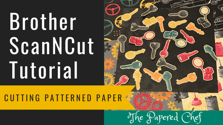 Brother ScanNCut - Cutting Patterned Paper - Classic Garage dsp