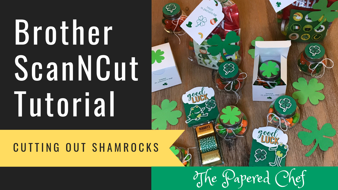 Brother ScanNCut - St. Patrick's Day Crafts