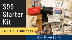 Sample Starter Kit - Stampin' Up! Sale-A-Bration $99 Special - Big Shot & Geared Up Garage Bundle