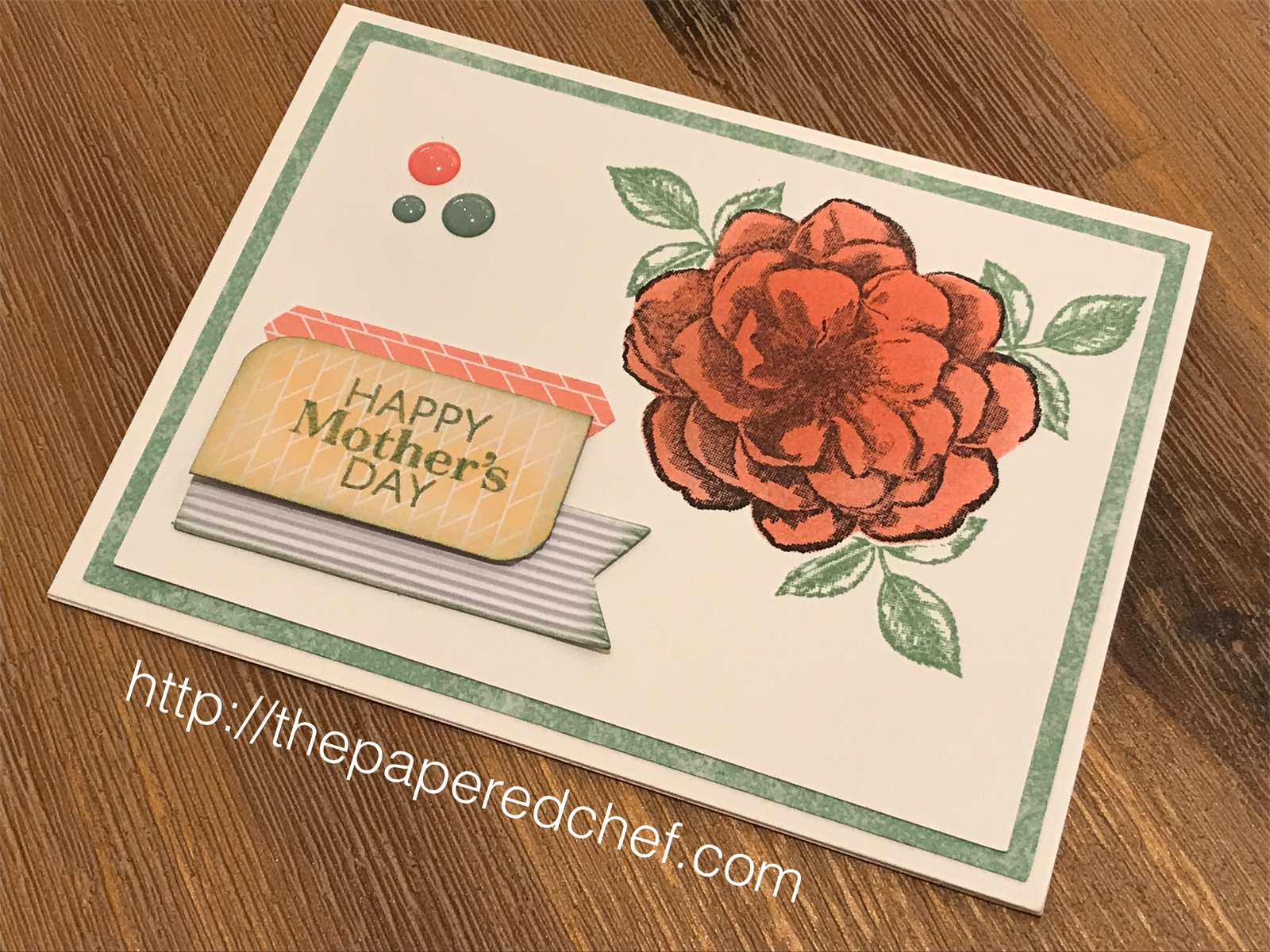 Sentimental Rose Happy Mother's Day Card