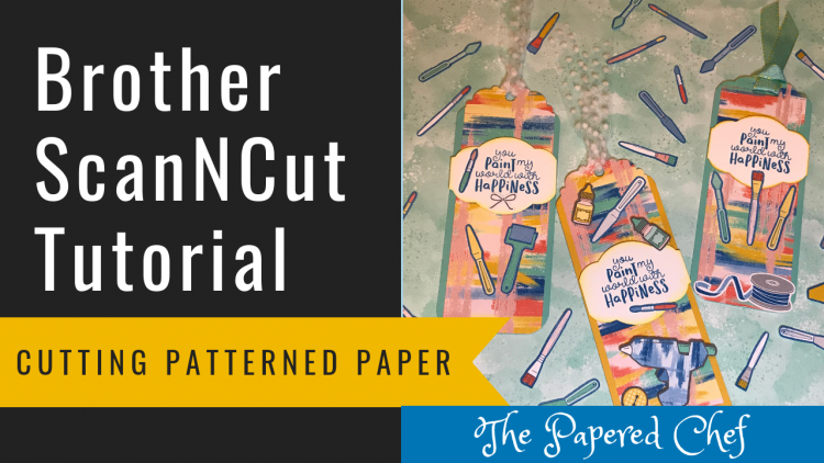 Brother ScanNCut - Cutting Patterned Paper - Follow Your Art