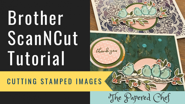 Brother ScanNCut - Cutting Stamped Images - Free As a Bird