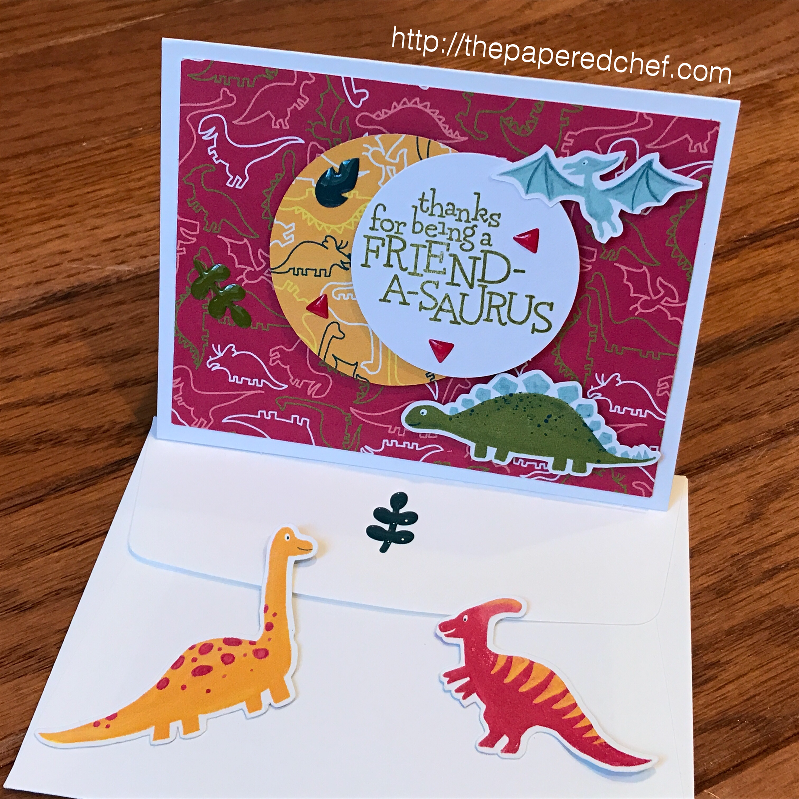 Dinoroar and Dino Days Card by Stampin' Up!