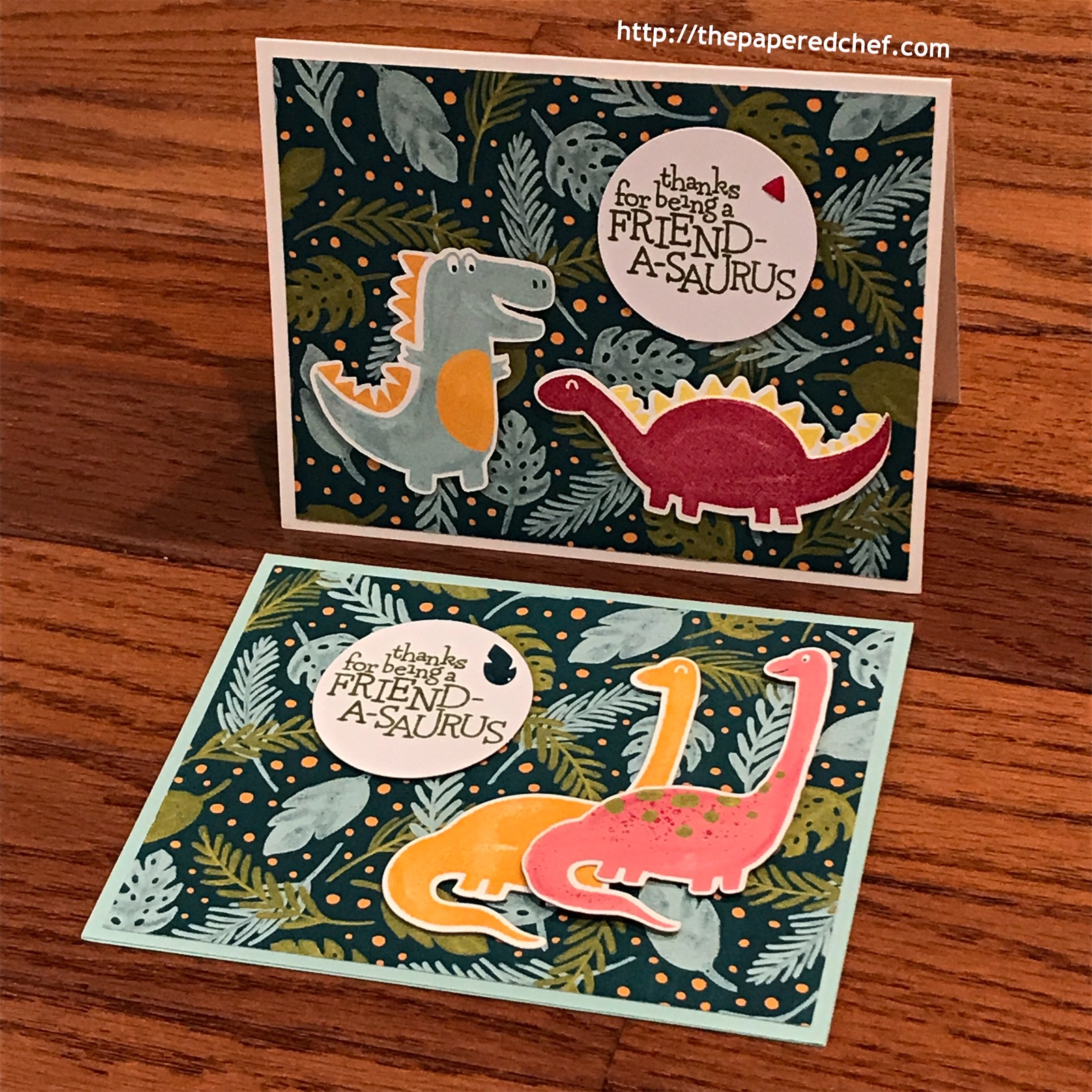 Dinoroar Suite by Stampin' Up! - Dinodays Cards