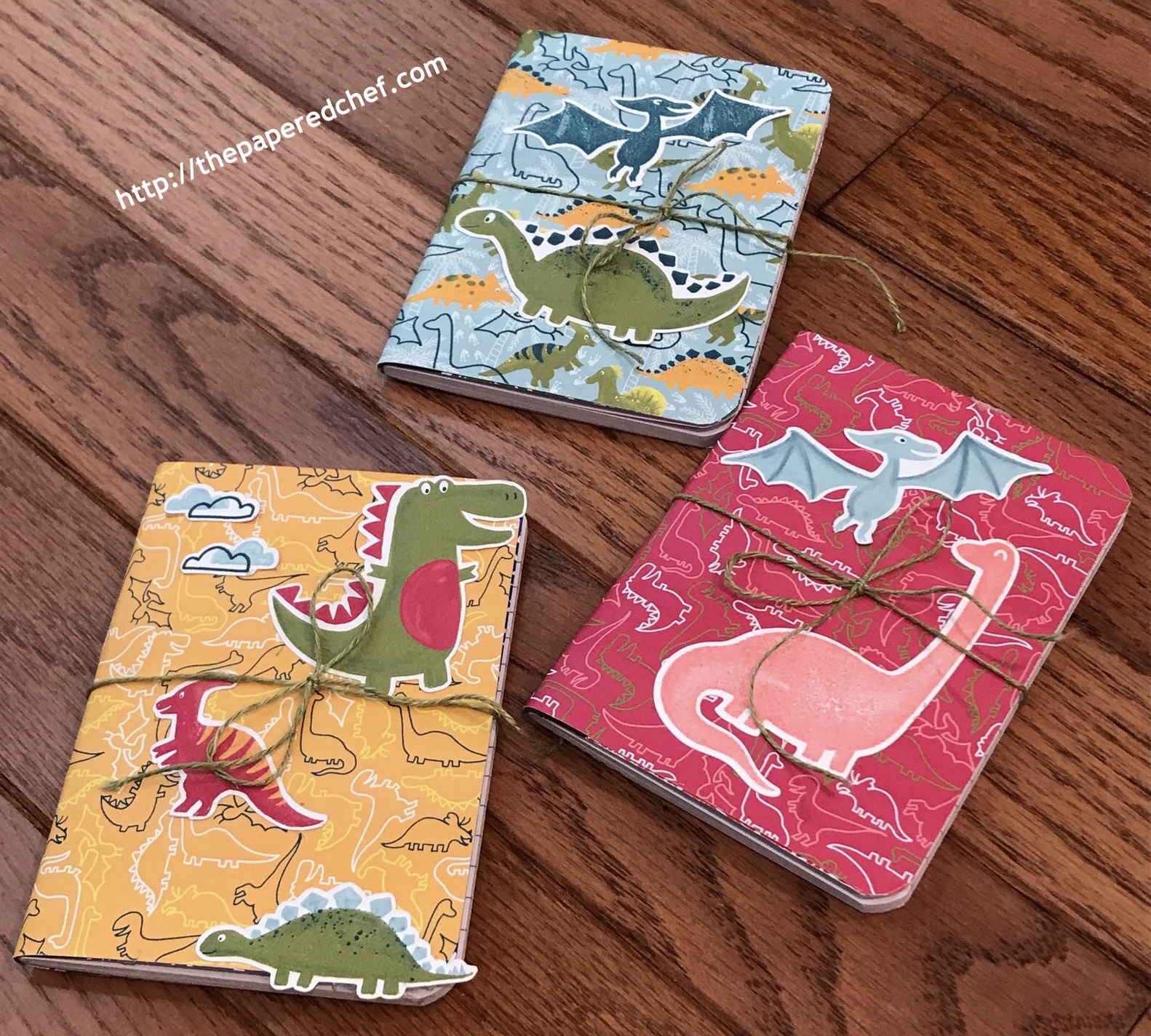 Dinoroar Suite by Stampin' Up! - Mini Notebooks