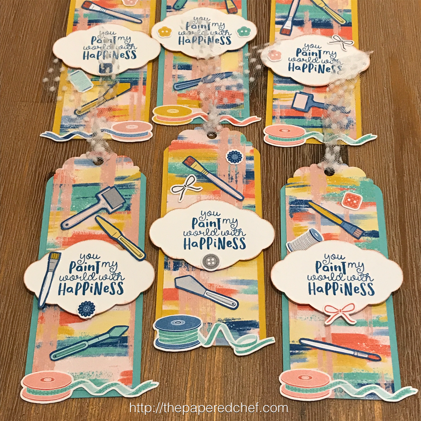 Follow Your Art Bookmarks by Stampin' Up!