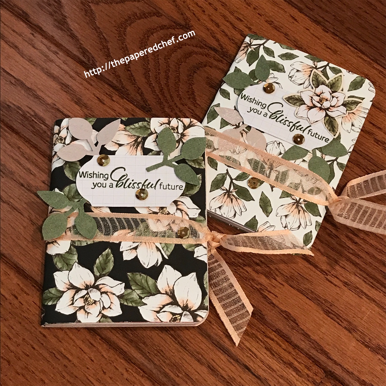 Magnolia Lane by Stampin' Up! - Mini Journals