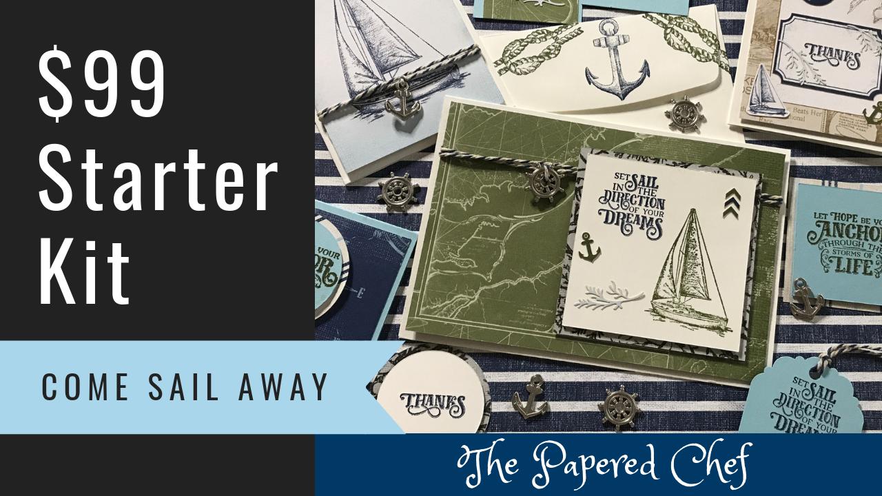 Stampin' Up! Starter Kit - Come Sail Away