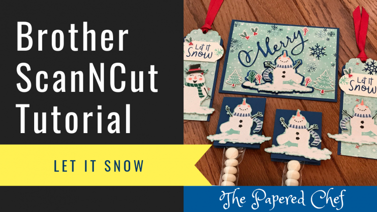 Brother ScanNCut Tutorial - Let it Snow
