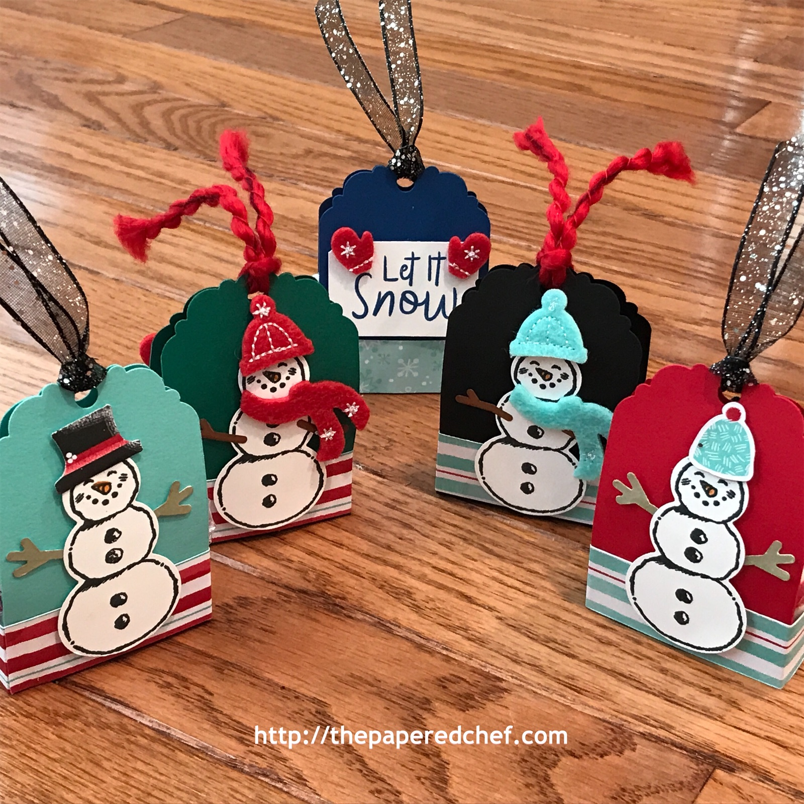 Snowman Builder Punch Treats
