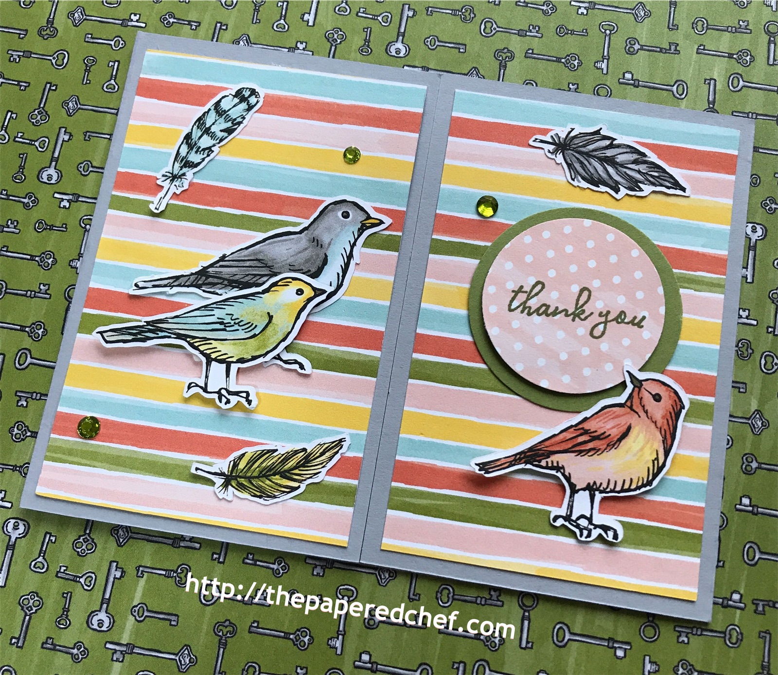 Bird Ballad Gate Fold Card