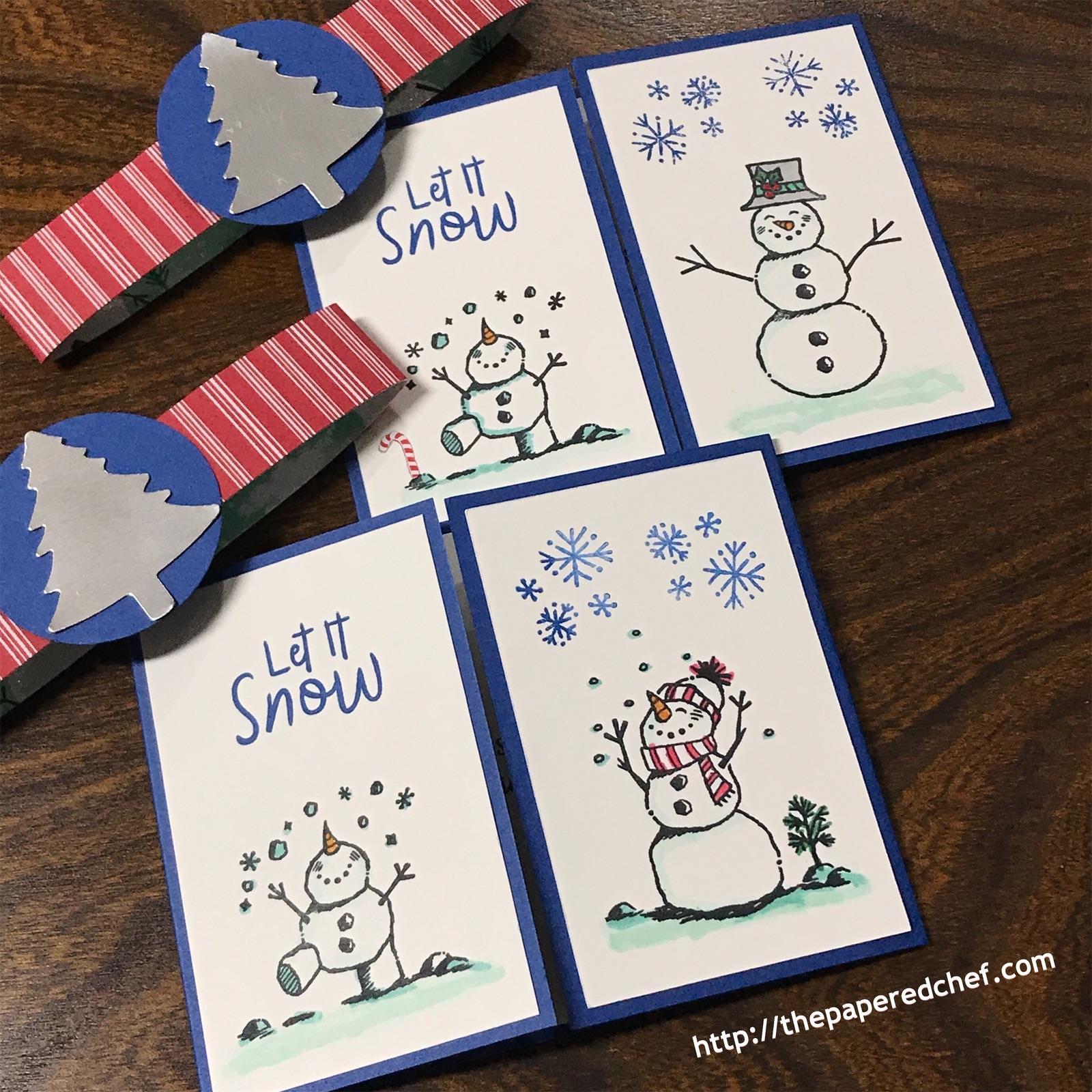 Snowman Season - Let it Snow - Card
