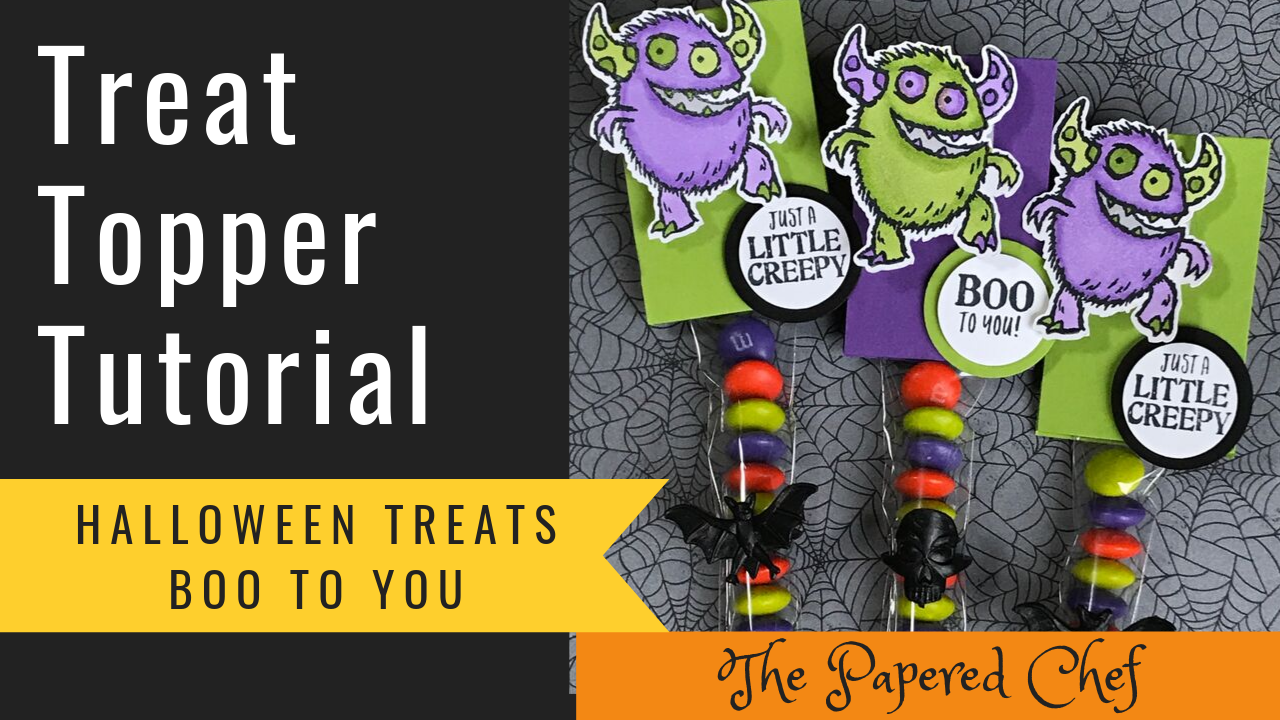 Treat Topper Tutorial - Boo to You