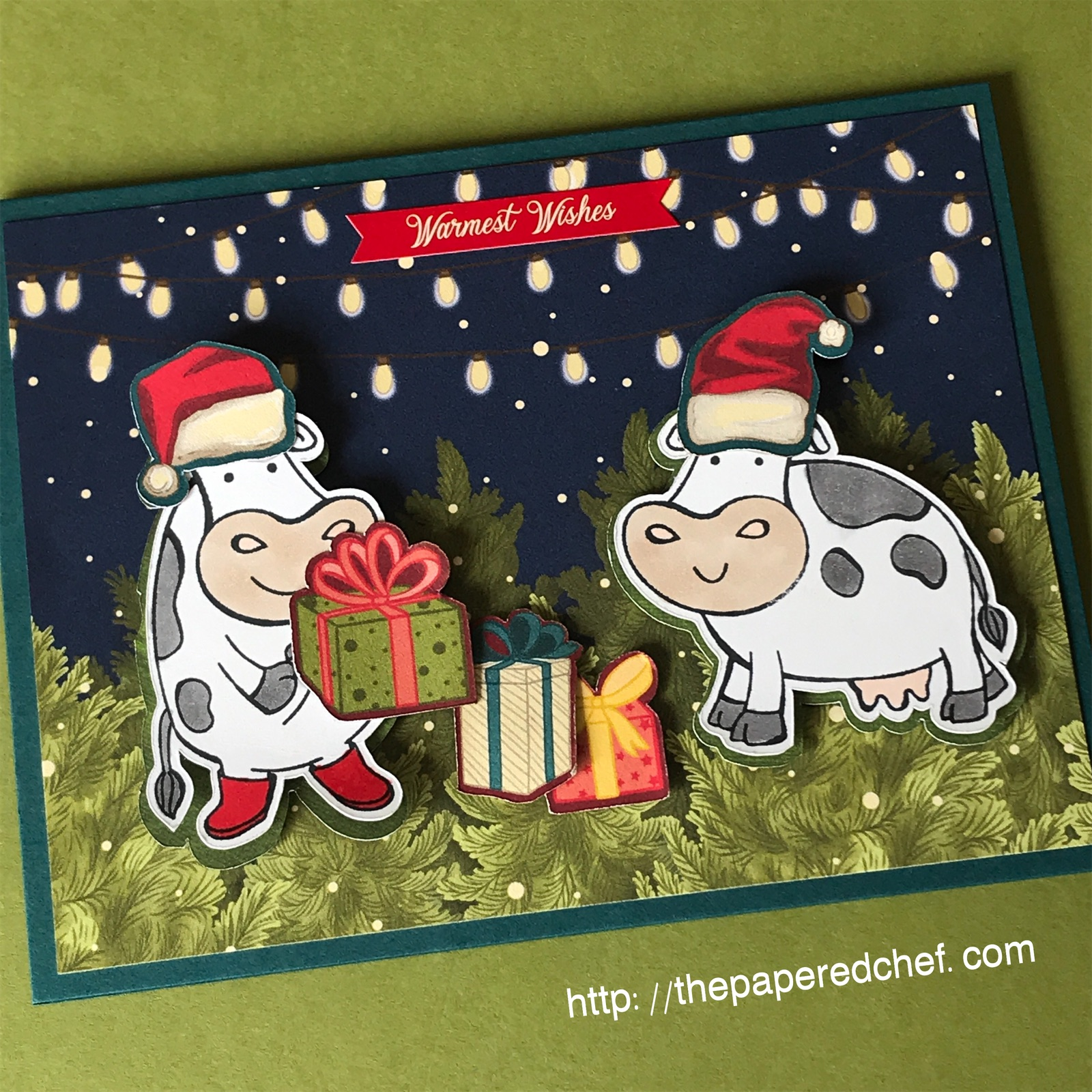 Night Before Christmas - Over the Moon - Stampin' Up!