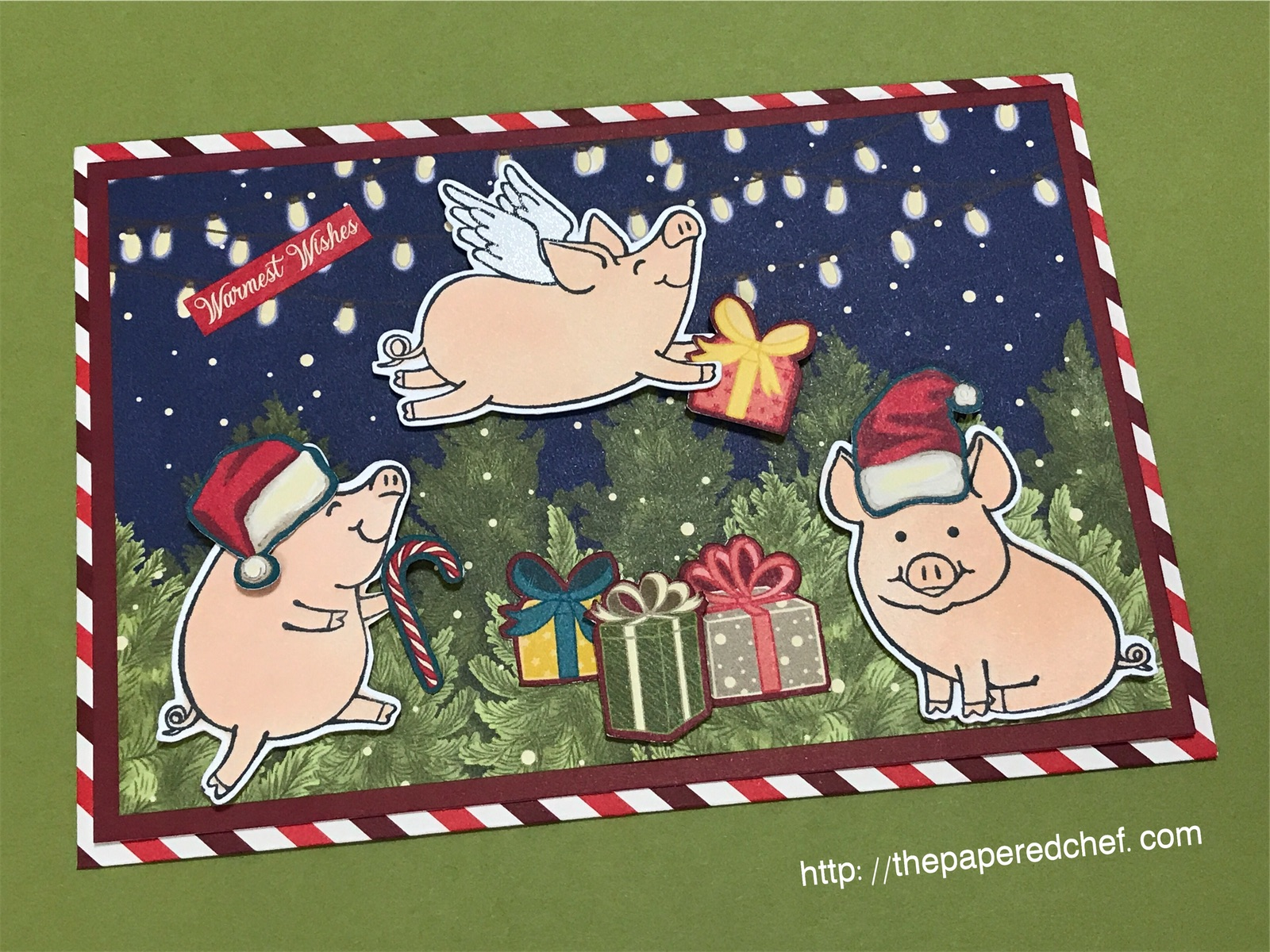 Night Before Christmas - This Little Piggy - Stampin' Up!