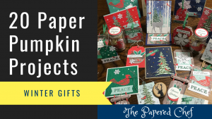 20 Paper Pumpkin Projects - Winter Gifts