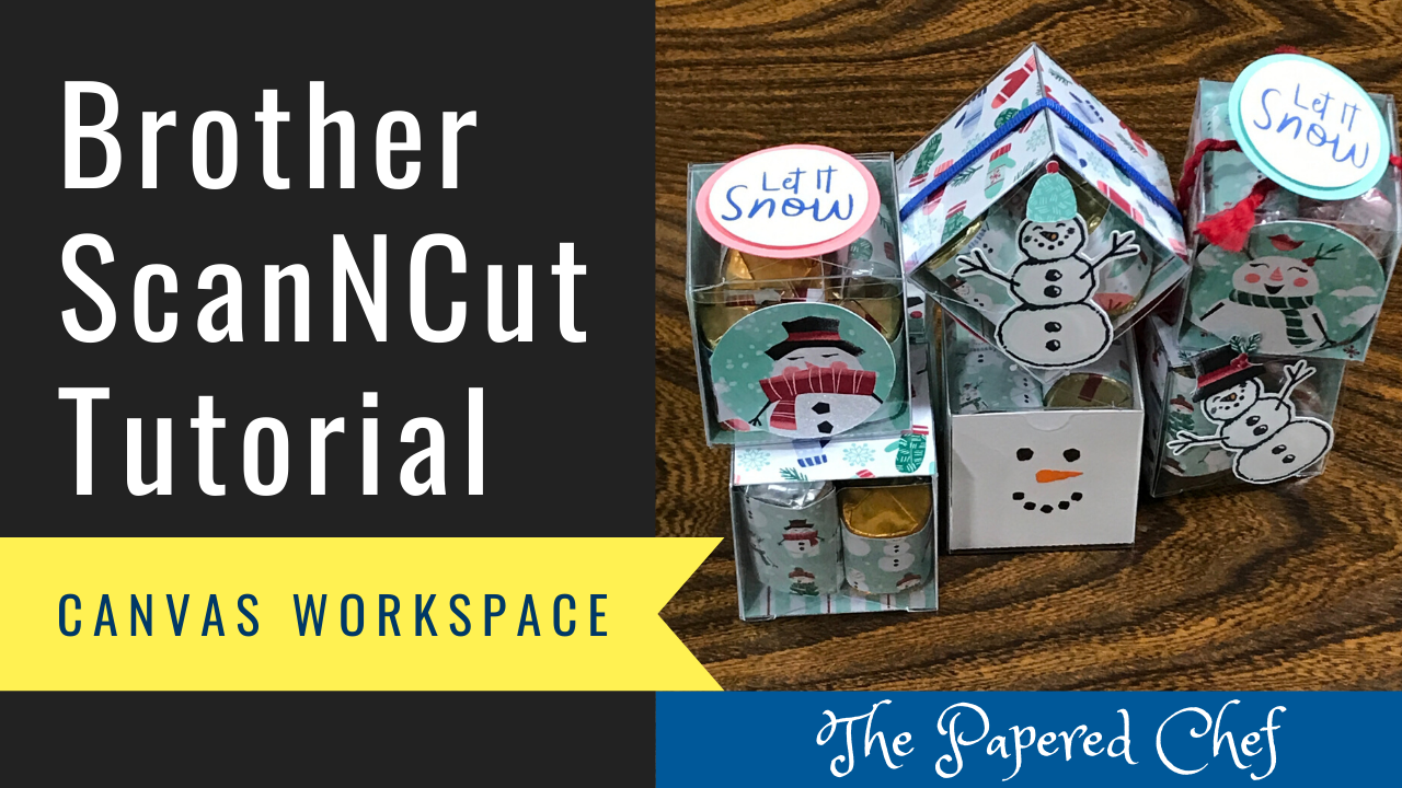 Brother ScanNCut - Canvas Workspace - Tiny Treat Boxes