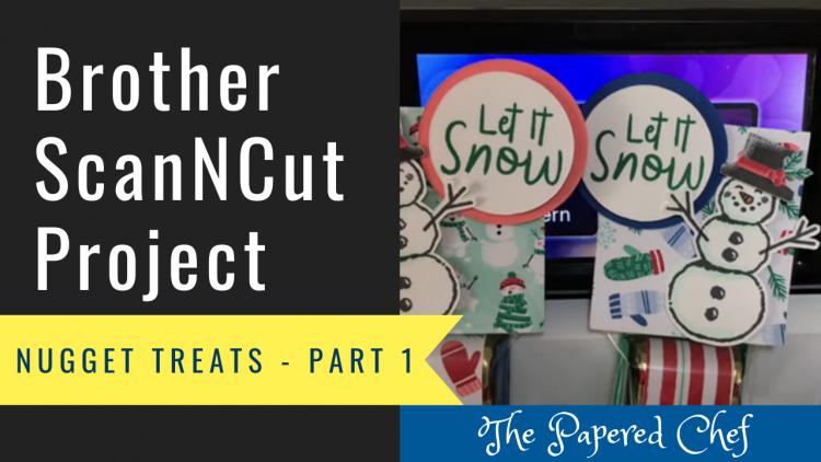 Snowman Nugget Treats Part 1