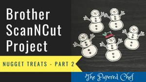 Snowman Nugget Treats - Part 2