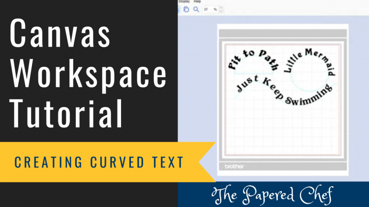 Canvas Workspace - Fit to Path - Curved Text