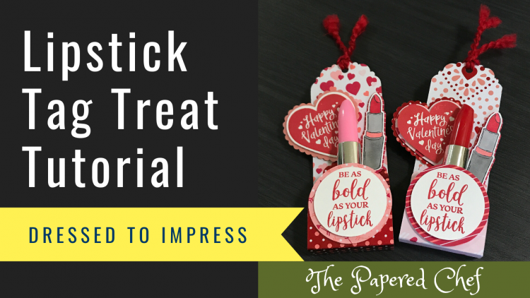 Lipstick Tag Treat Tutorial
