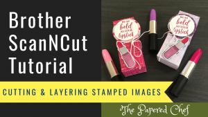 ScanNCut - Cutting Stamped Images - Dressed to Impress