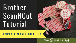 Template Maker - Canvas Workspace - ScanNCut - Gift Boxes
