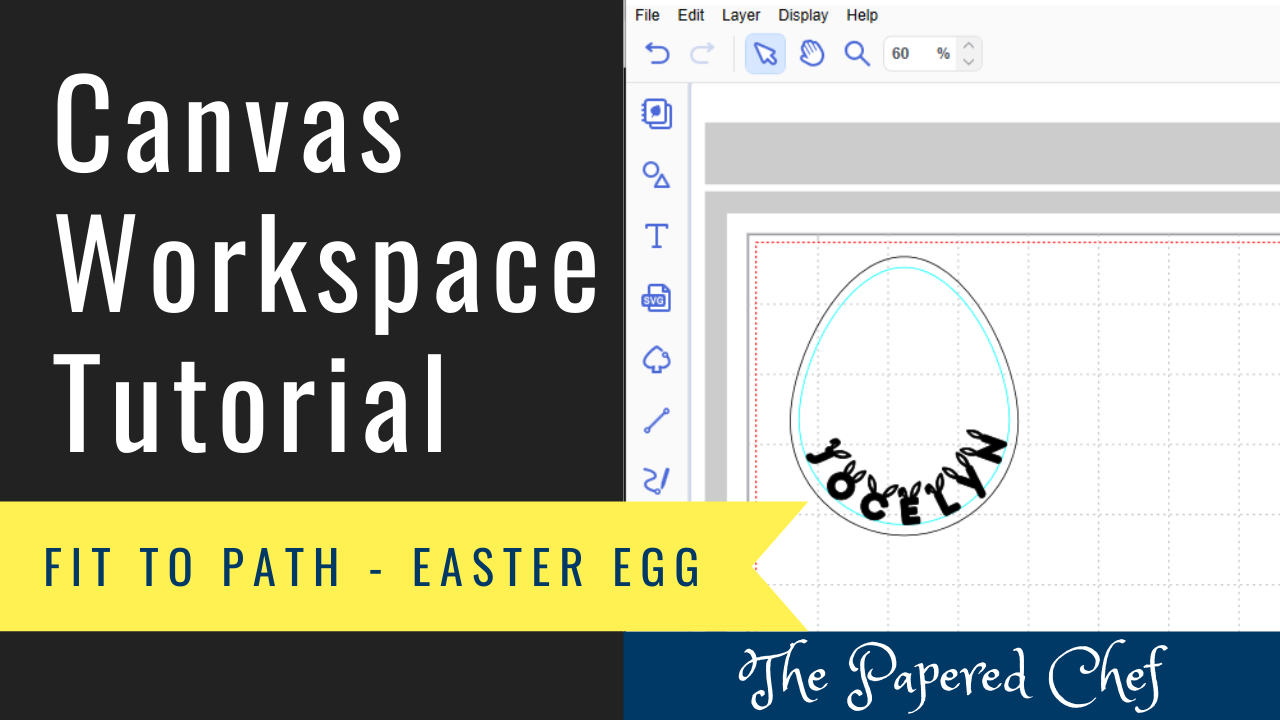 Canvas Workspace - Fit to Path - Easter Egg