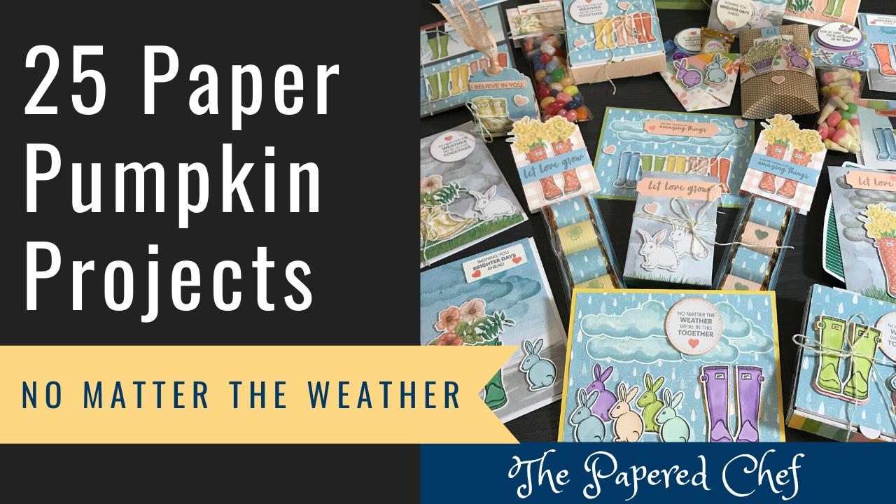 Paper Pumpkin - No Matter the Weather