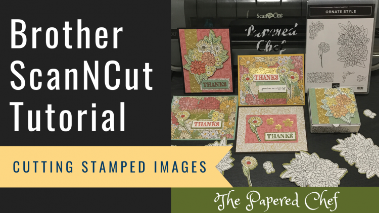 Brother ScanNCut - Cutting Stamped Images - Ornate Style