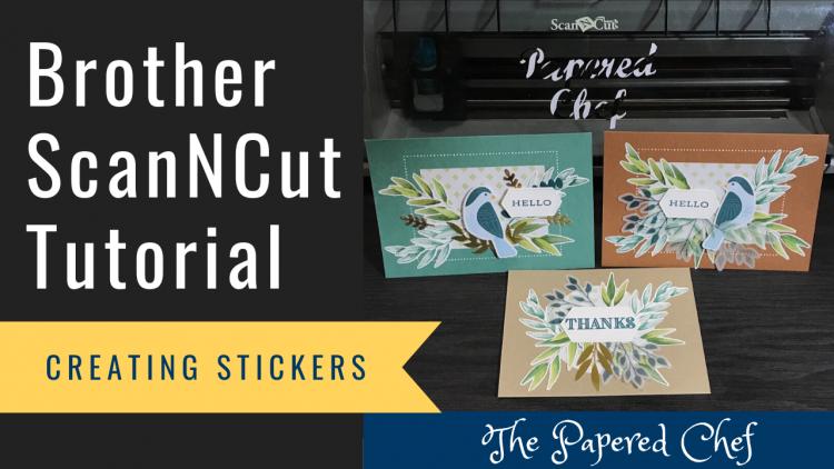 ScanNCut - Stickers