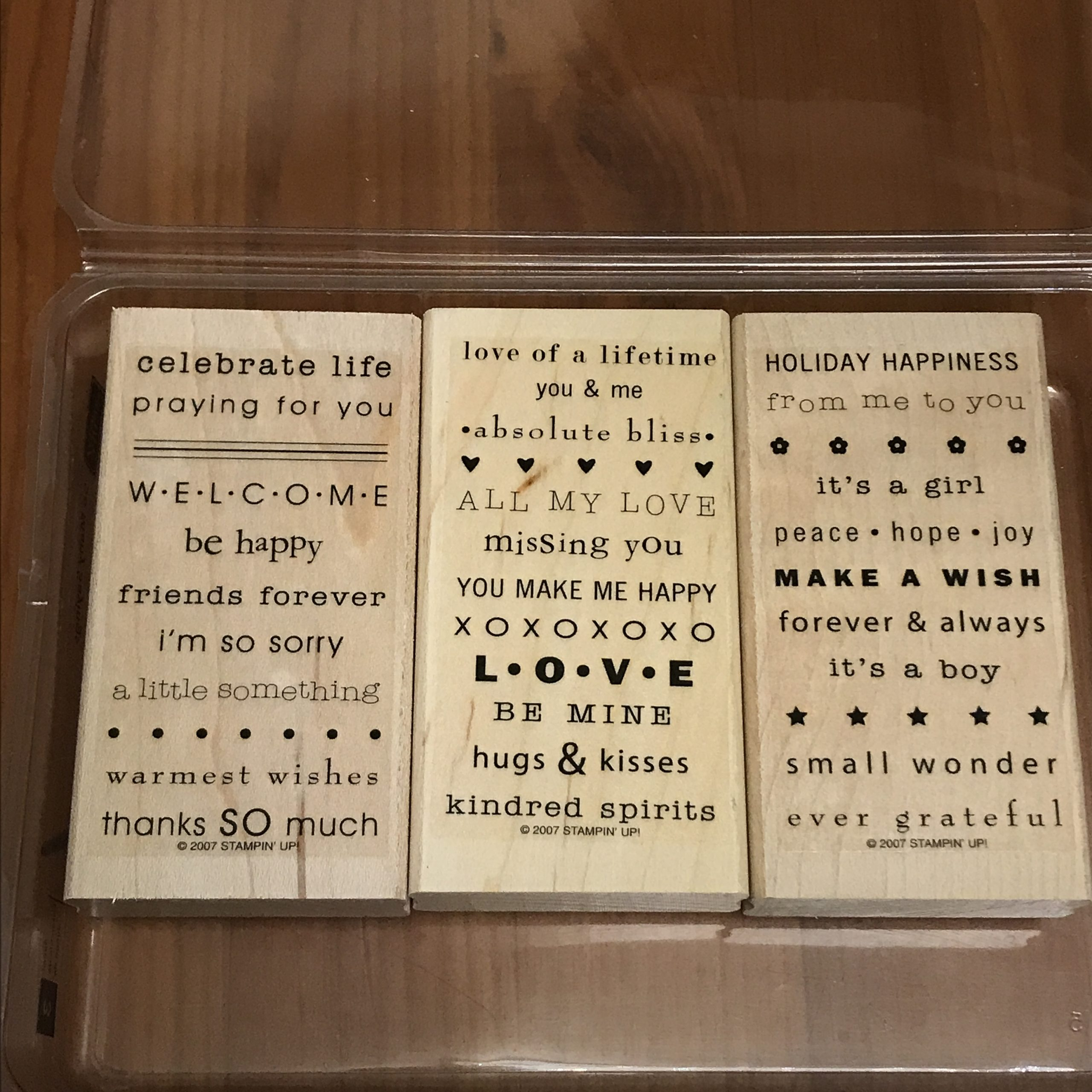So Many Sayings Stamp Set by Stampin' Up!