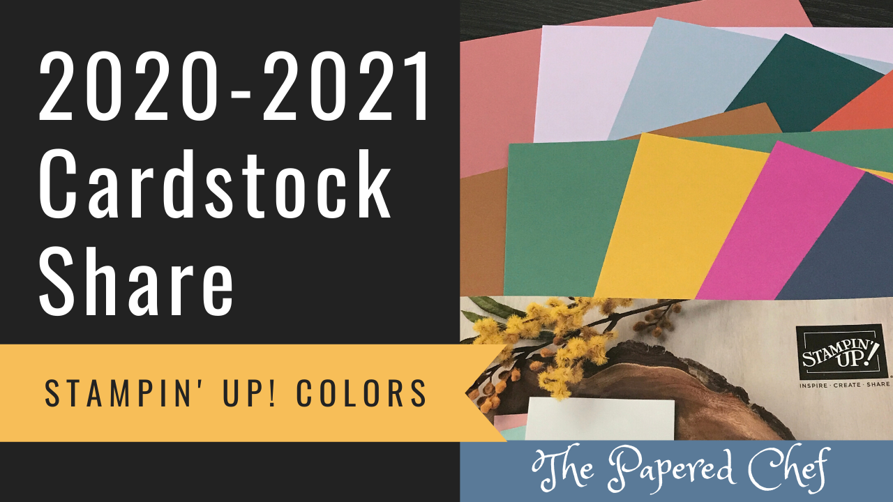 2020-2021 Cardstock Share