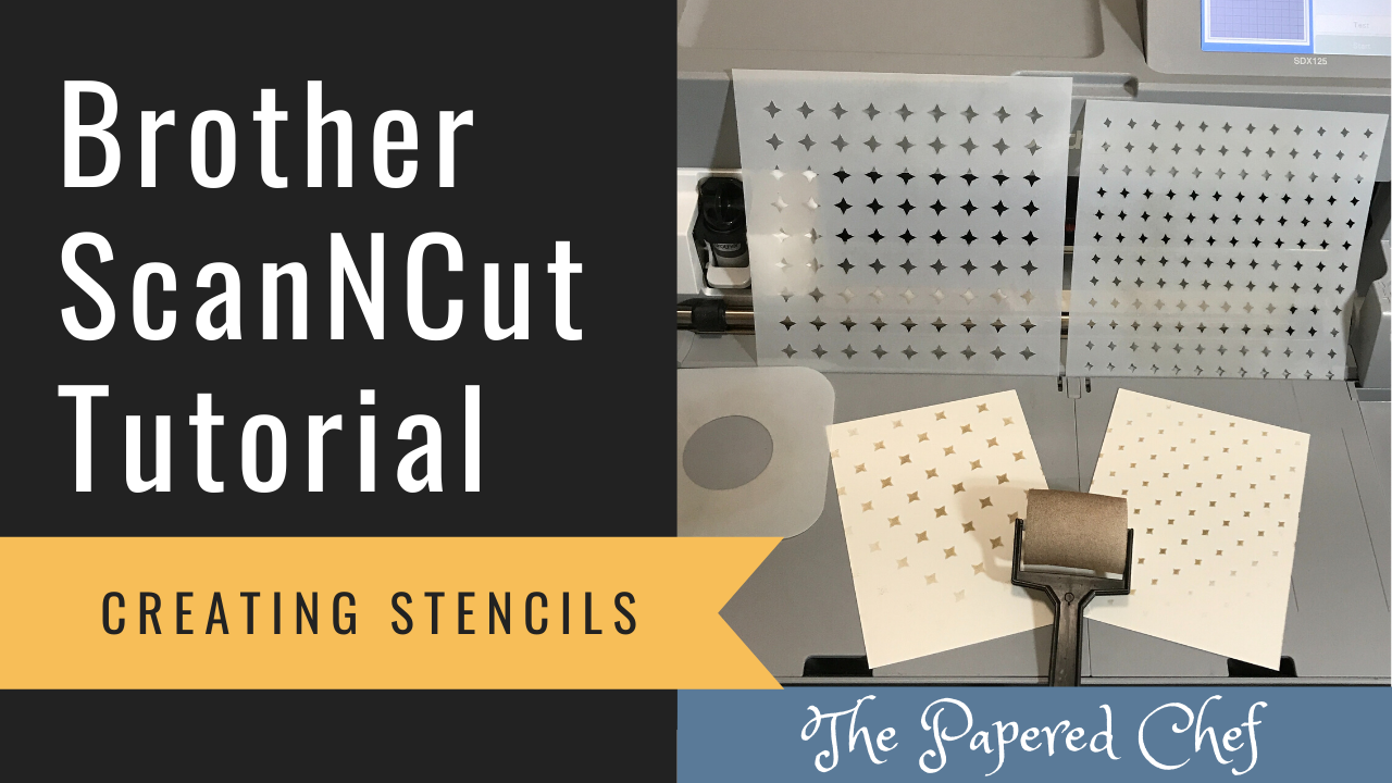 Brother ScanNCut - Creating Stencils