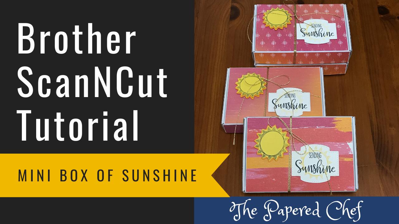 Mini Paper Pumpkin Box of Sunshine