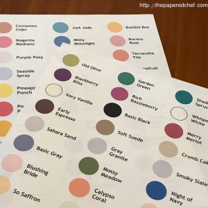 Stampin' Up! Color Labels 2020