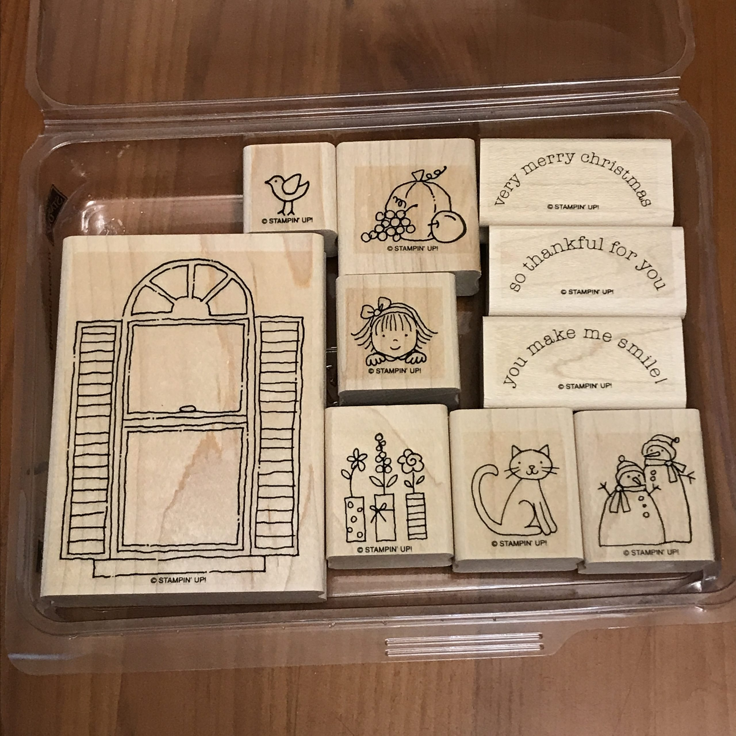 Window Dressing Stamp Set