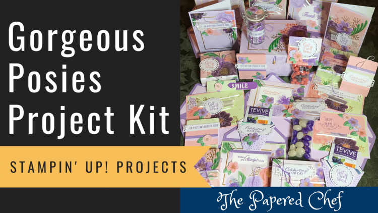 Gorgeous Posies Project Kit