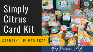 Simply Citrus Card Kit Projects