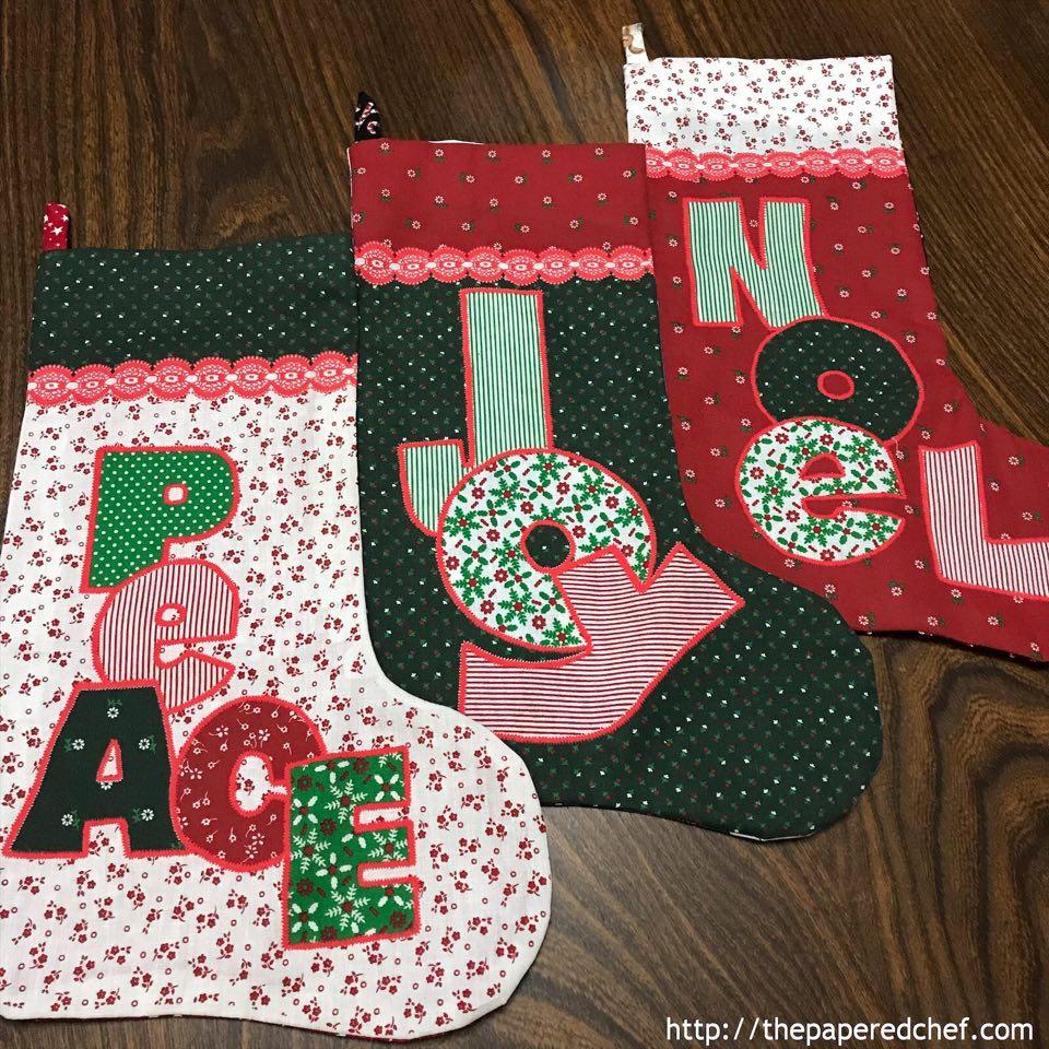 Set of Christmas Stockings